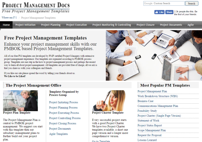 3 Excellent Sites To Get Free Document Templates PMTemplates 670x470