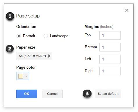 How to Spice Up Google Docs With Custom Background Colors Page Settings