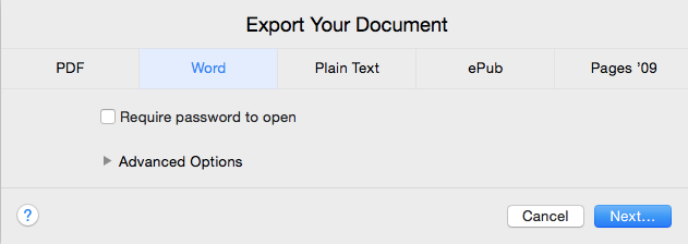 How to View or Edit a Pages Document From Mac on Windows Pages Export Word