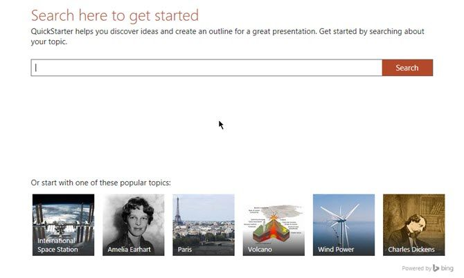 PowerPoint QuickStarter Instantly Outlines Any New Presentation and Starts You Off Right PowerPoint Quickstarter Search