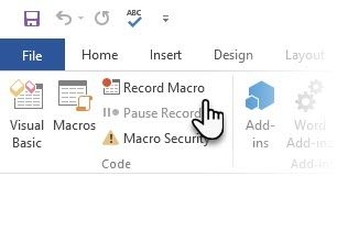 The Easy Way to Insert Special Symbols in Microsoft Word Record Macro