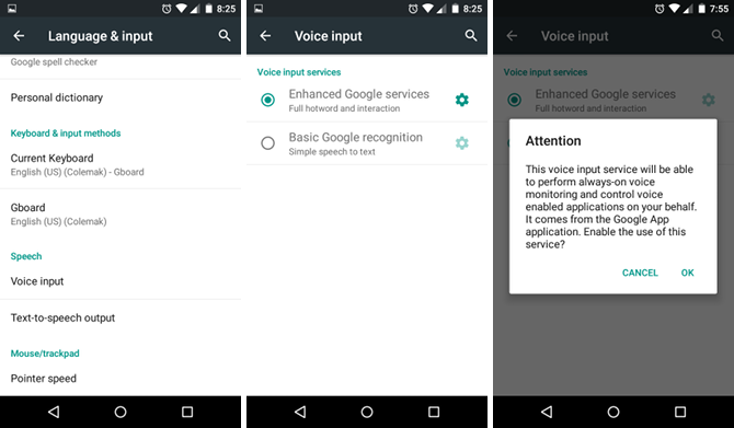 Free Up Your Hands With Speech-to-Text on Android android voice input settings