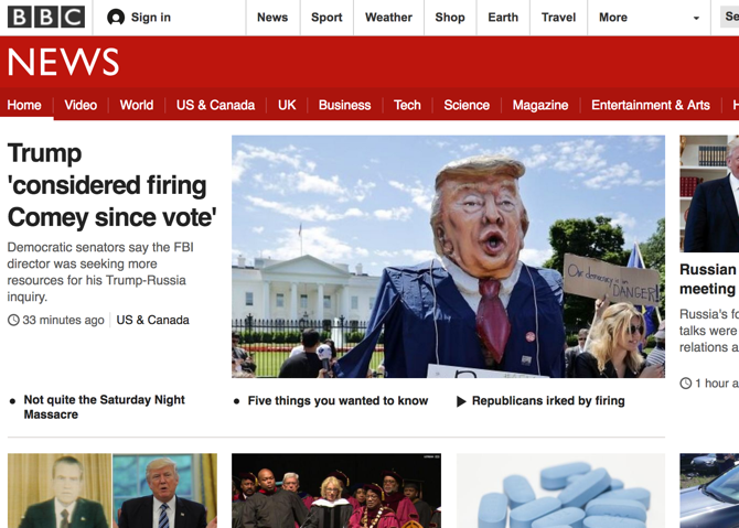bbc news. The British Broadcasting Corporation is the largest broadcaster  in the world. The British government funds the organization and so it is  not ...