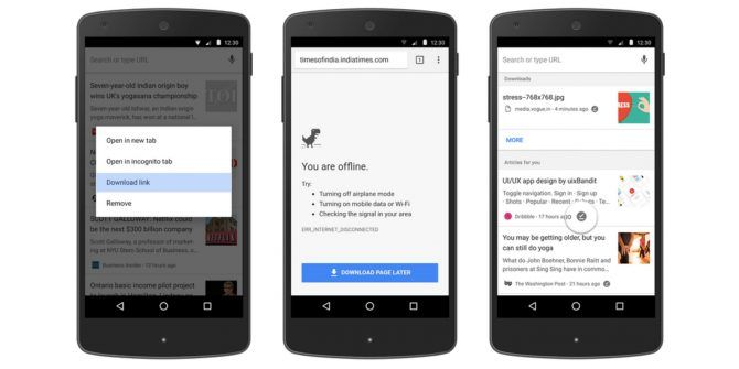 You Can Now Read Offline Using Chrome on Android
