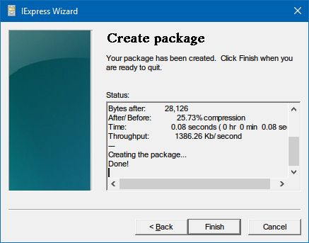 "How to Make an ""EXE"" Installation File create installer iexpress"