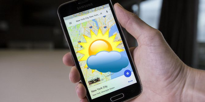 Google Maps Is All You Need for Real-Time Weather Data