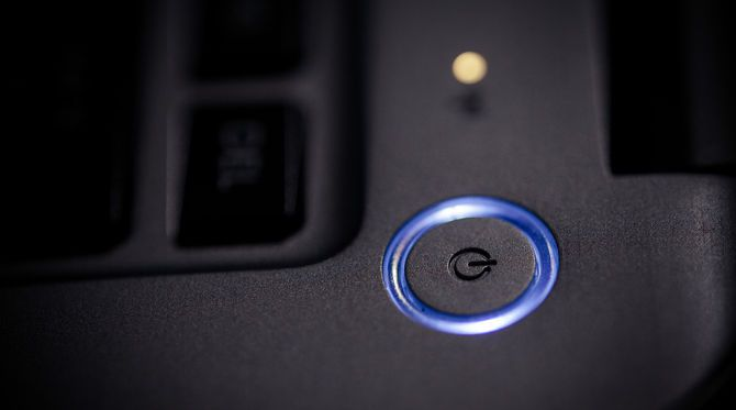 The Power Cycle Mystery: Are Hard Reboots Dangerous? laptop power button
