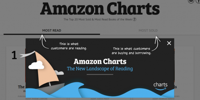 Amazon Charts the Books Everyone Else Is Reading