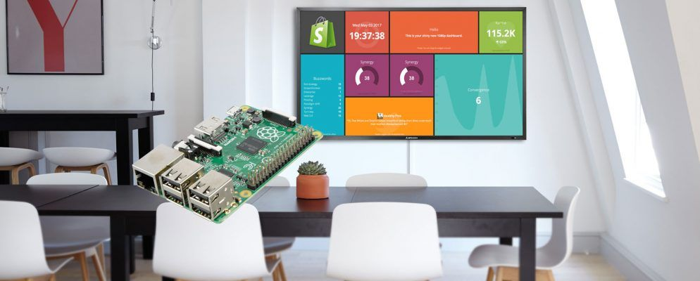 Make a Wall-Mounted Dashboard With Dashing io and a Raspberry Pi