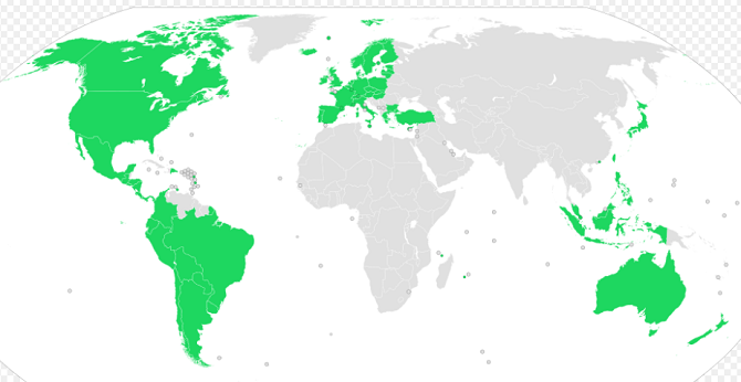 spotify countries