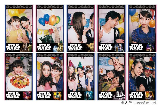 star wars instax film