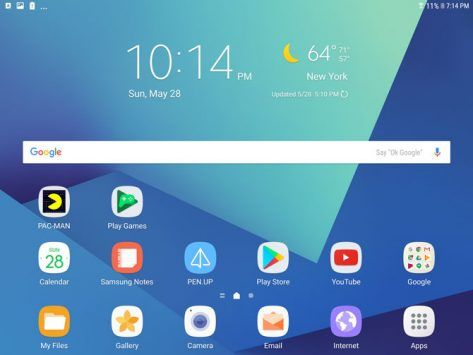 The Best Android Tablet Yet? Samsung Galaxy Tab S3 Review and Giveaway tab screenshot 1 473x355
