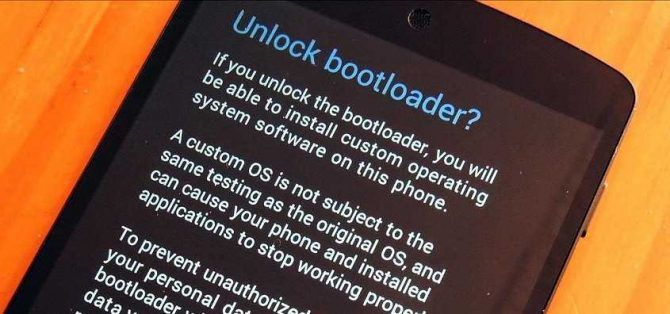 unlock bootloader on android