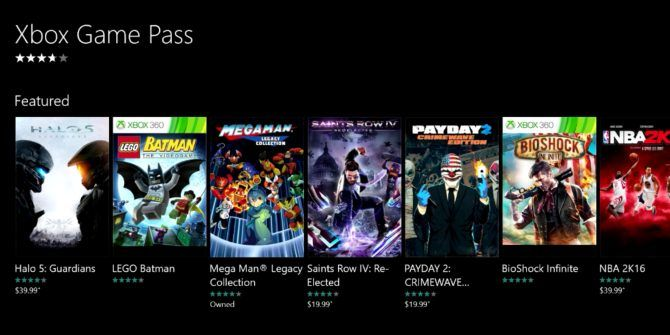 You Can Now Try Microsoft's Xbox Game Pass