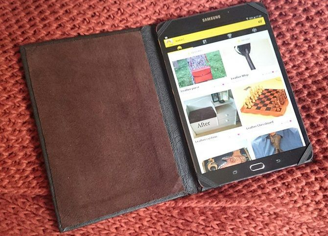tablet case leather