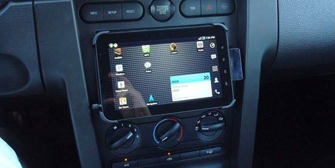 car tablet computer