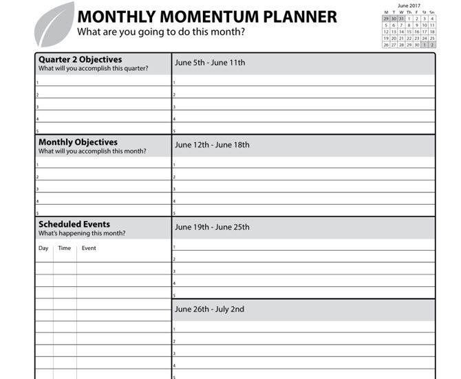 11 free printable planners that every office worker needs