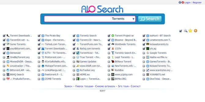 aio torrent search engine