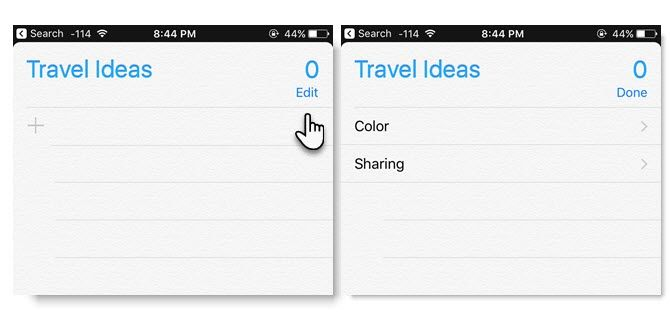 Why You Should Use Apple Reminders to Share Lists Apple Reminders List 03