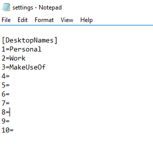 Файл настройки Virtual Desktop Enhancer