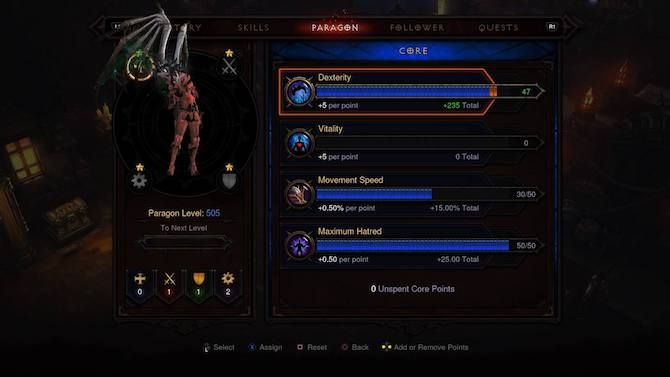 Diablo 3 Demon Hunter Paragon