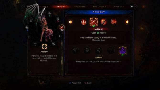 Diablo 3 Demon Hunter Skills