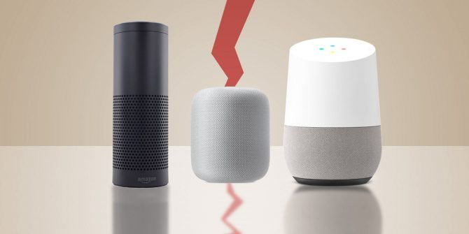 Amazon Echo vs. Google Home vs. Apple HomePod