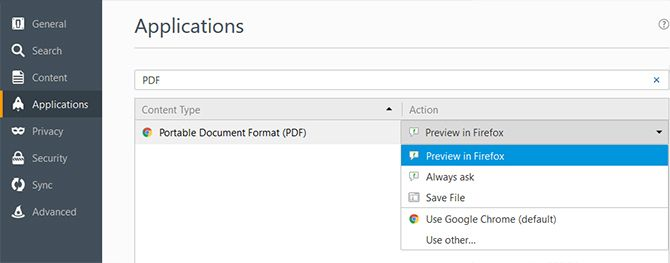 How to Always Open Online PDFs in the PDF Viewer of Your Choice Firefox