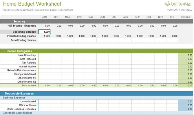 More Spreadsheet Templates To Manage Your Money