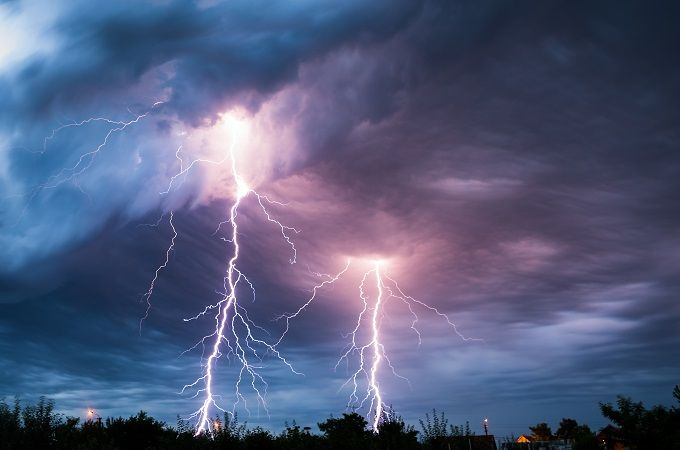 Do You Really Need a Surge Protector? Lightning Shutterstock