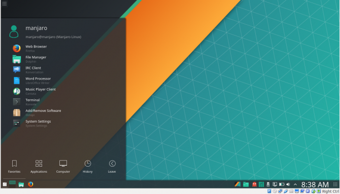 Popular Linux Apps Distros 2018 - Manjaro 3