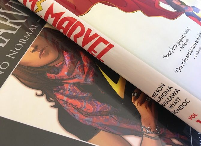 ms marvel comic book