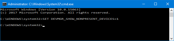 How to Easily Remove Old Drivers From Windows NONPRESENT DEVICES CMDPROMPT