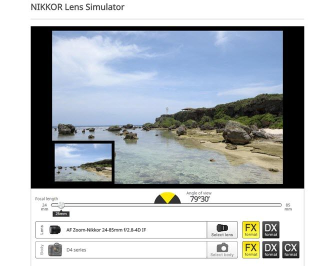 Buying a Camera Lens? Use These Lens Simulators First to Test Them Out Nikkor