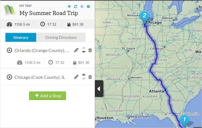 rand mcnally new trip web