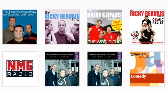 podcasts ricky gervais