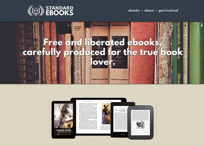Download Thousands of Free Ebooks Formatted for Modern E-Readers StandardBooks Homepage