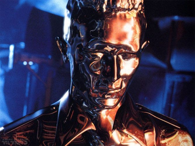 Terminator 2 Liquid Metal Form
