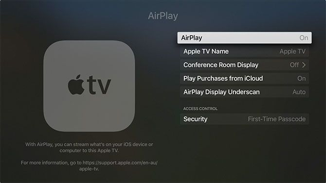How to Set Up and Use Your Apple TV apple tv airplay settings