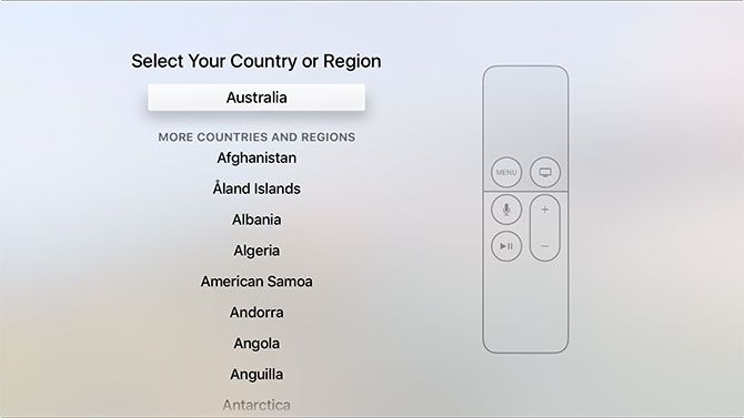 How to Set Up and Use Your Apple TV apple tv region