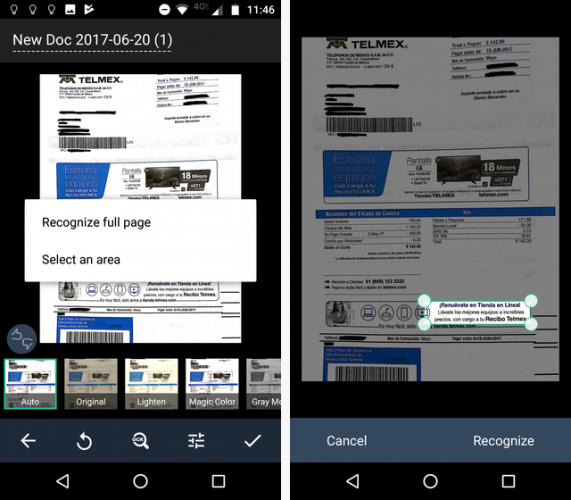 Scan Documents on Your Phone with CamScanner for Android camscanner ocr 571x500