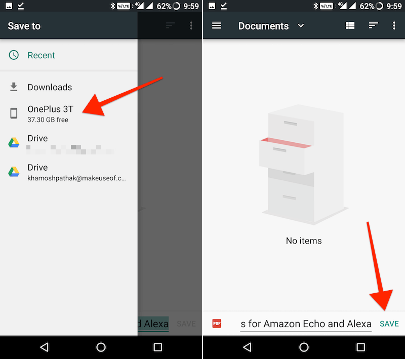 convert web page to PDF in Chrome for Android 1