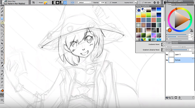 These tutorials will teach you how to draw anime and manga comics corel painter how to