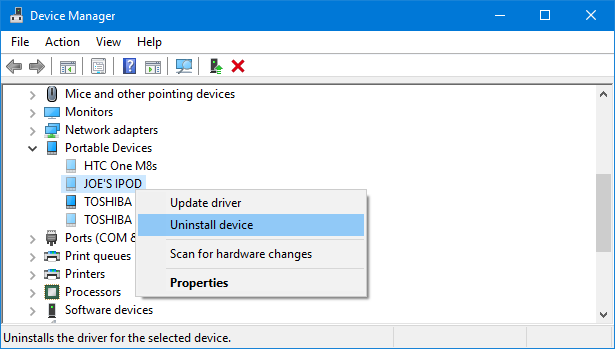 How to Easily Remove Old Drivers From Windows device manager uninstall