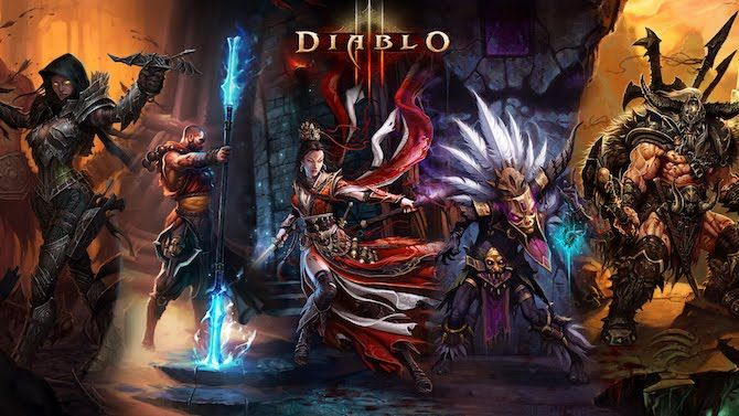 Diablo 3 Character Classes