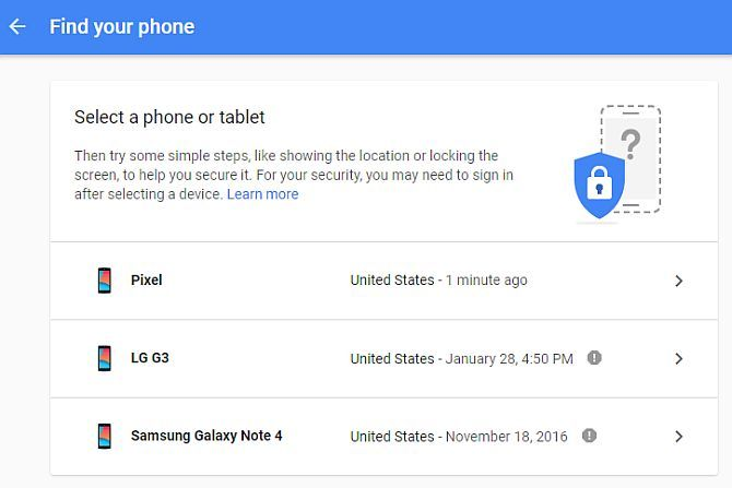 How to Trace a Mobile Phone Location from an Android Device find my device2