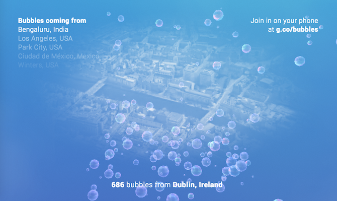 google bubbles