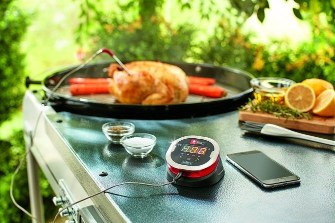 igrill weber thermometer