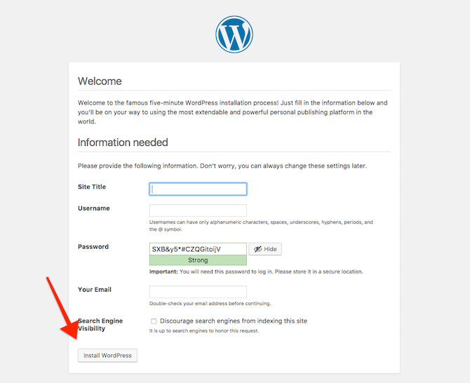 install wordpress on cloud 9 3
