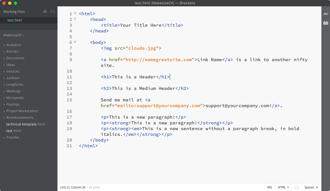 The 5 Best Javascript Editors for Productive Coders and Programmers javascript editor brackets
